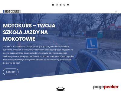 Kurs jazdy Warszawa
