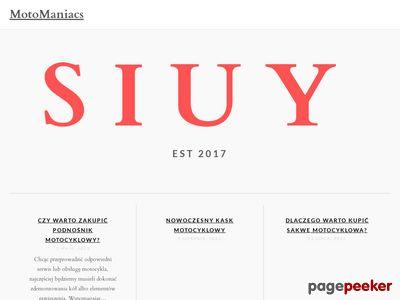 Dane techniczne motocykli
