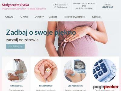 Ginekolog Małgorzata Pytko