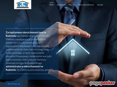 Profesjonalne zarządzanie nieruchomościami Radom