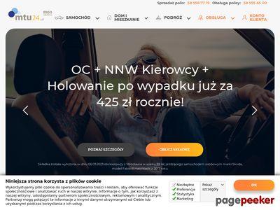 Ubezpieczenie samochodu – ubezpieczenia pojazdów z mtu24.pl