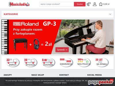 Sklep muzyczny Music Audio, Internetowy sklep muzyczny