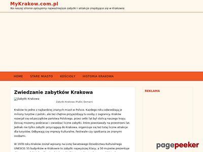 MyKrakow.com.pl - najciekawsze zabytki Krakowa