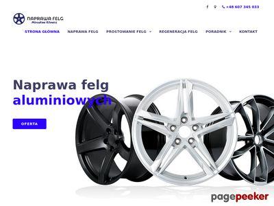 Prostowanie felg- Klewicz Mirosław