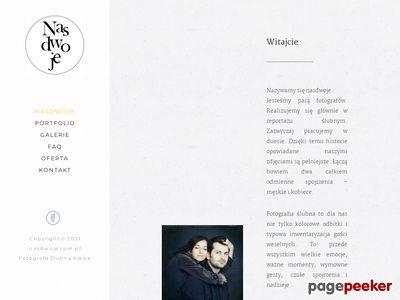 Nasdwoje.com.pl - profesjonalna fotografia ślubna