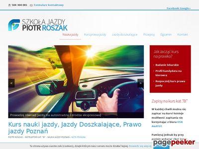 Szybki kurs prawa jazdy Poznań