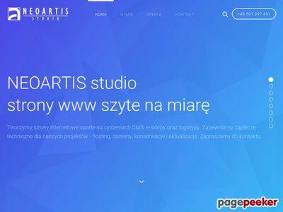 Tworzenie stron www legnica NEOARTIS studio - Home
