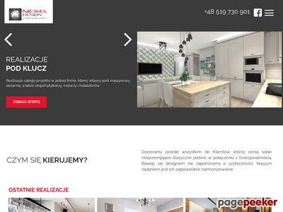 Architektura oraz projekty wnętrz - Nickel Design Projektowanie wnętrz Poznań