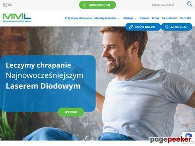 Niechrapanie.pl Klinika MML