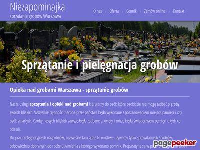 Opieka nad grobami Warszawa