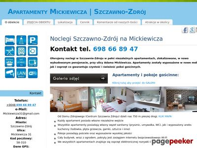 Noclegi Wałbrzych - Mickiewicza 31