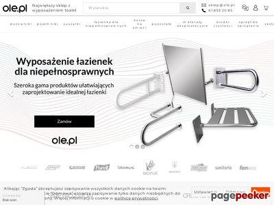 Ole.pl Sklep z wyposażeniem do łazienek i toalet