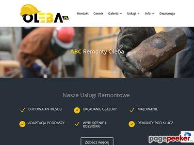 Abc Remonty glazura Oleba
