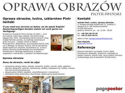 Oprawa obrazów Warszawa