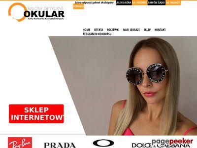 Okulary Oakley, okulary Prada, okulary Armani