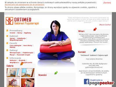 Ortimed Justyna Kosecka - Rehabilitantka