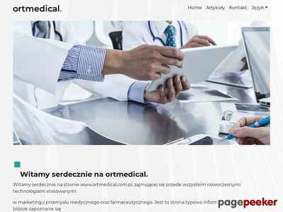 Ortmedical – serwis dedykowany dla farmacji