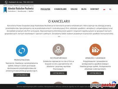 Kancelaria adwokacka Radosław Paulewicz