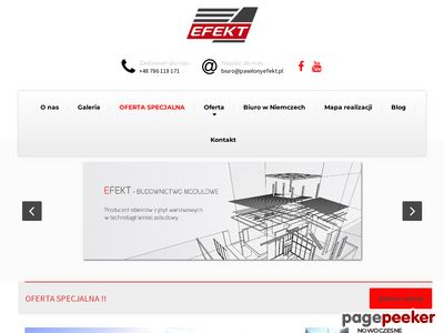 Producent pawilonów handlowych - EFEKT