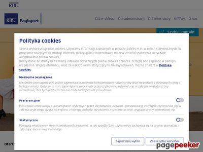 Płatności przez Internet z Paybynet