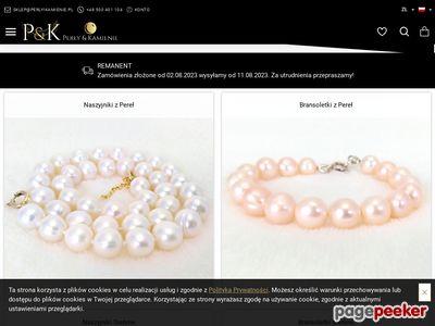 Www.perlyikamienie.pl - biżuteria z pereł