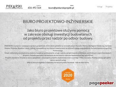 Biuro projektowe Koszalin PIEKARSKI