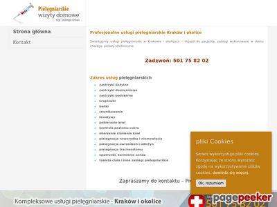 Pielęgniarka J.Urban - pomoc medyczna