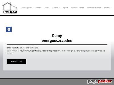 PM-BAU - Budowa domów energooszczędnych, pasywnych