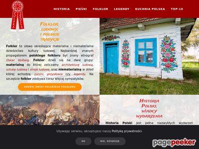 Folklor najwspanialszy skarb tradycji polskiej.