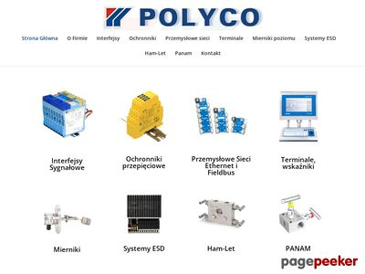 Poziomowskazy i mierniki poziomu - http://www.polyco.com.pl/