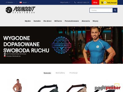 Koszulki i t-shirty mma - sklep poundoutgear.com