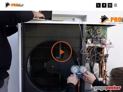 Informacjie o ogrzewaniu powietrzem - www.problast.pl