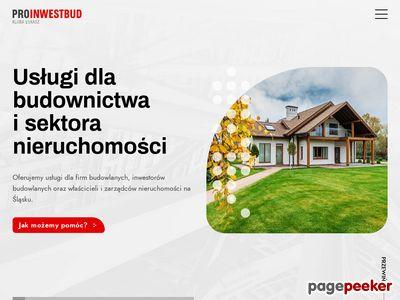 Proinwestbud - kosztorysy i nadzór budowlany