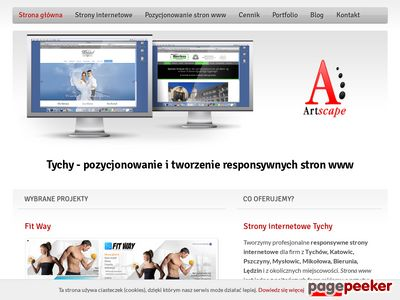 Strony internetowe Tychy