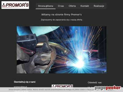 PROMOR'S usługi obróbka skrawaniem gdańsk