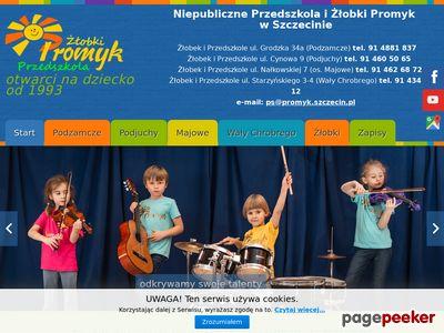 PROMYK przedszkole prywatne szczecin