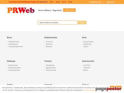Katalog stron PrWeb