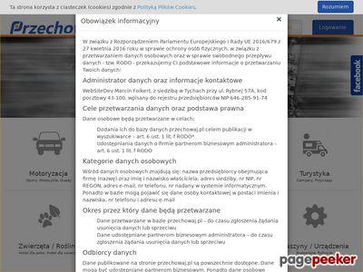 Przechowywanie - opon, dokumentów – hotele dla zwierząt - parkingi - przechowaj.pl