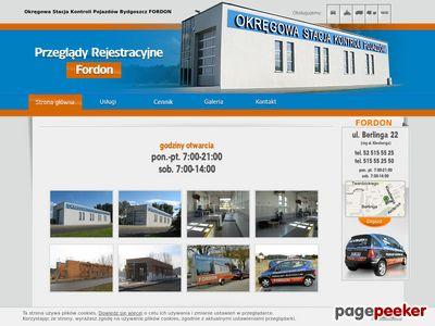 Przeglądy rejestracyjne Bydgoszcz FORDON