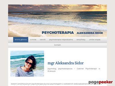 Aleksandra Sidor psycholog