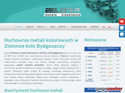 Płaskownik aluminiowy - P.W. Zielonka