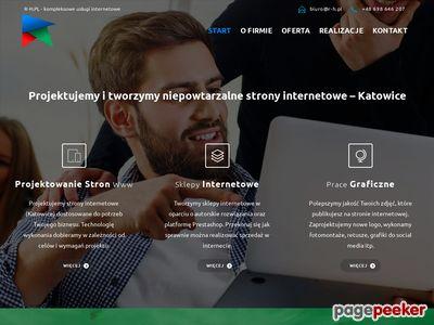 Strony www dla firm z Katowic