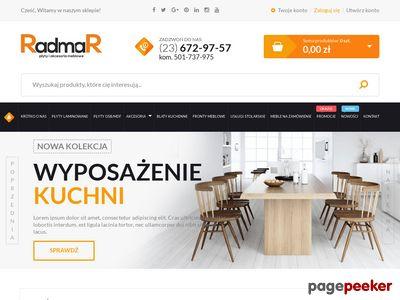 Płyty laminowane http://www.radmar.pl