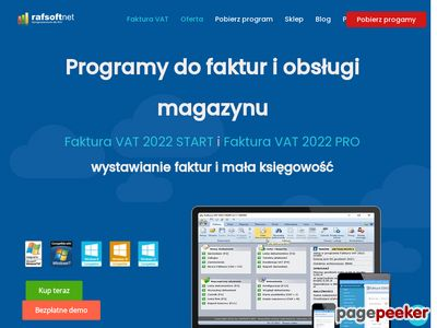 Program do fakturowania - Faktura VAT 2017