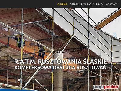 RATM Rusztowania Gliwice, Katowice, Zabrze