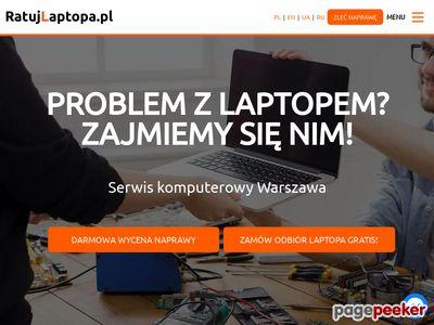 Naprawa laptopów Warszawa