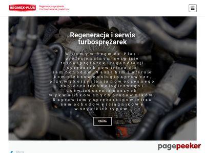 REGMEX-PLUS naprawa turbin mielec