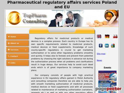 Usługi regulatory affairs: rejestracja leków, suplementów diety