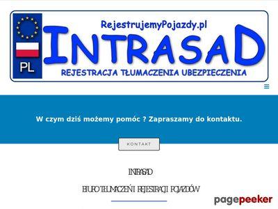 Biuro tłumaczeń i rejestracji pojazdów Intrasad