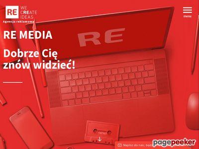 Reklama, powierzchnie reklamowe Bydgoszcz Remedia.